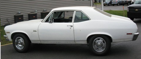 1972 Chevrolet Nova barn find for sale