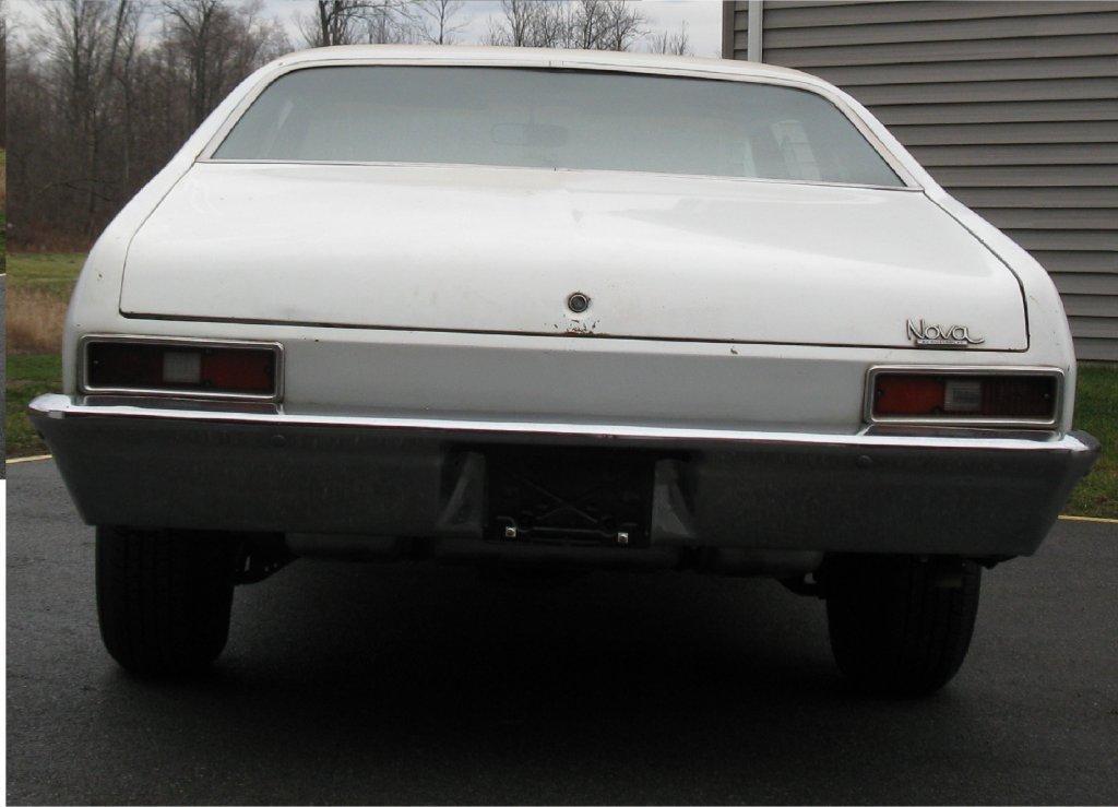 1972 Chevrolet Nova barn find for sale