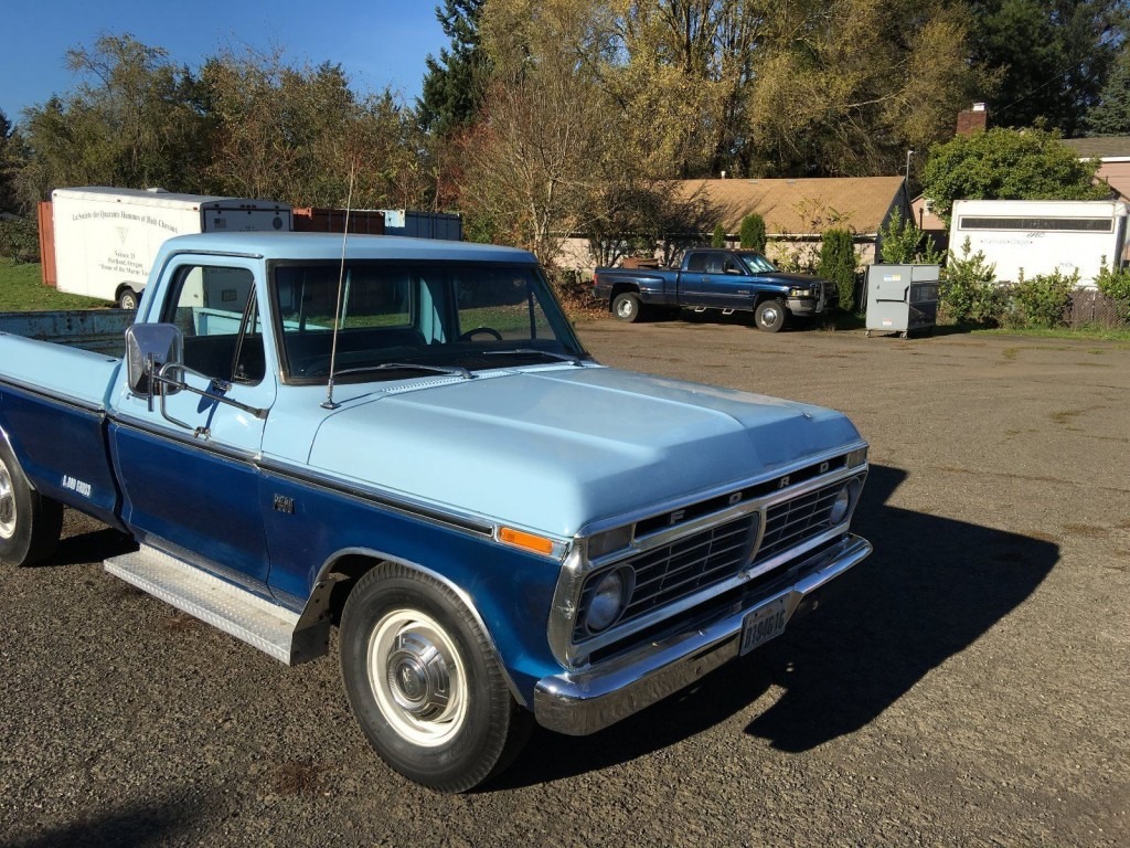 1975 Ford F 250 barn find