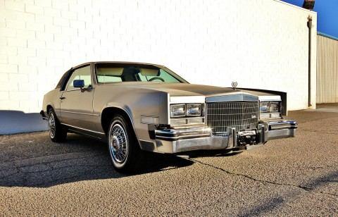 1985 Cadillac Eldorado BARN FIND for sale