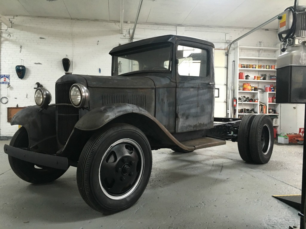 1932 Ford BB truck project