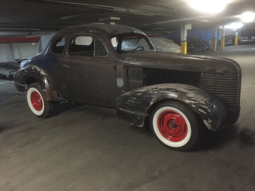 1938 Pontiac Coupe Old School Barn Find Hot Rod
