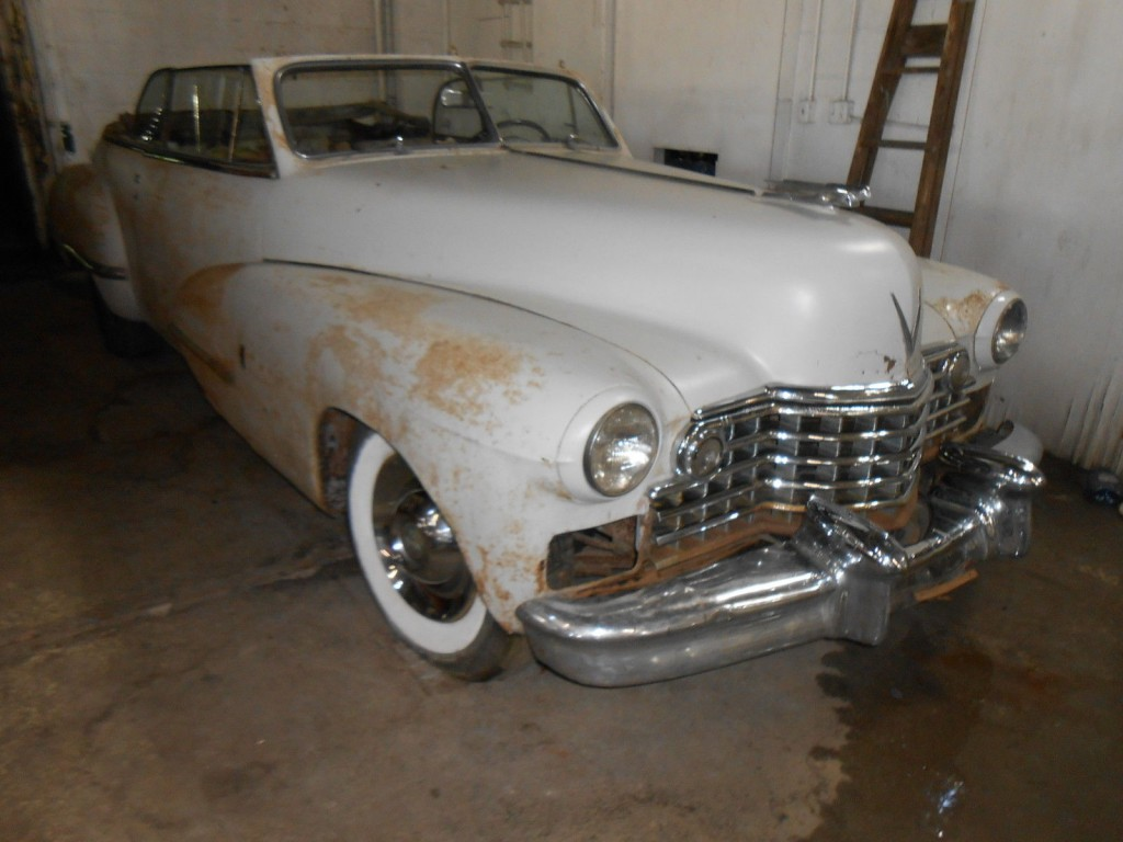 1942 Cadillac 62 Series CONVERTIBLE barn find