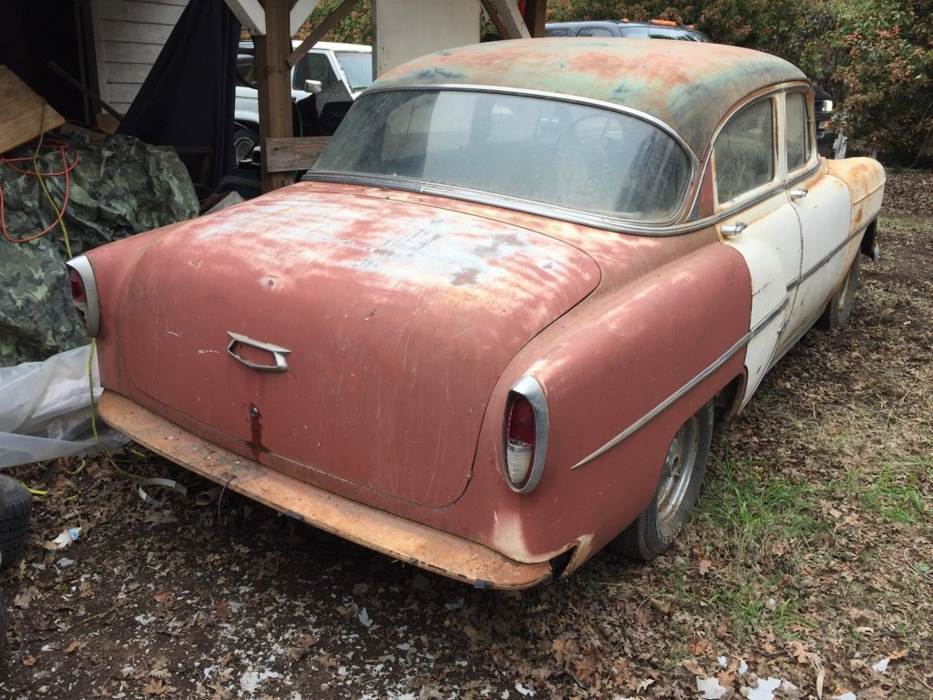 1954 Chevy Bel Air 4dr (Barn Find)