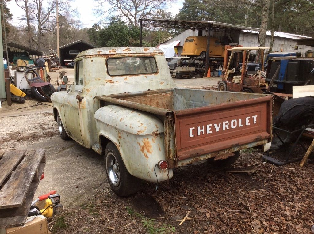 1957 Chevrolet Pickup 3100 Half Ton, Short Bed Barn Find