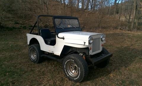 1961 Jeep CJ CJ3B barn find for sale