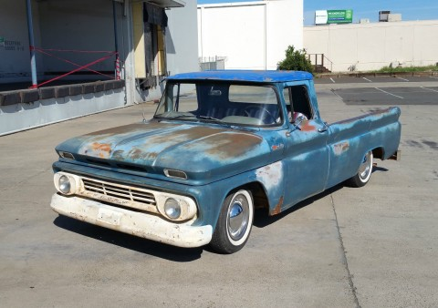 1962 Chevrolet C 10 BARN FIND Custom for sale
