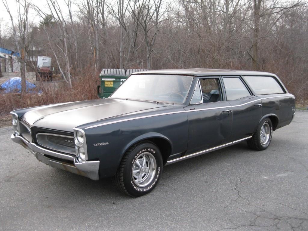 1966 Pontiac Tempest Wagon barn find