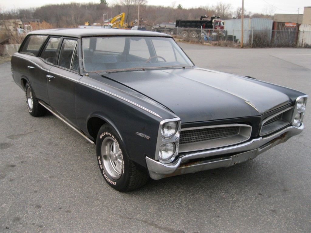 1966 Pontiac Tempest Wagon Barn Find For Sale