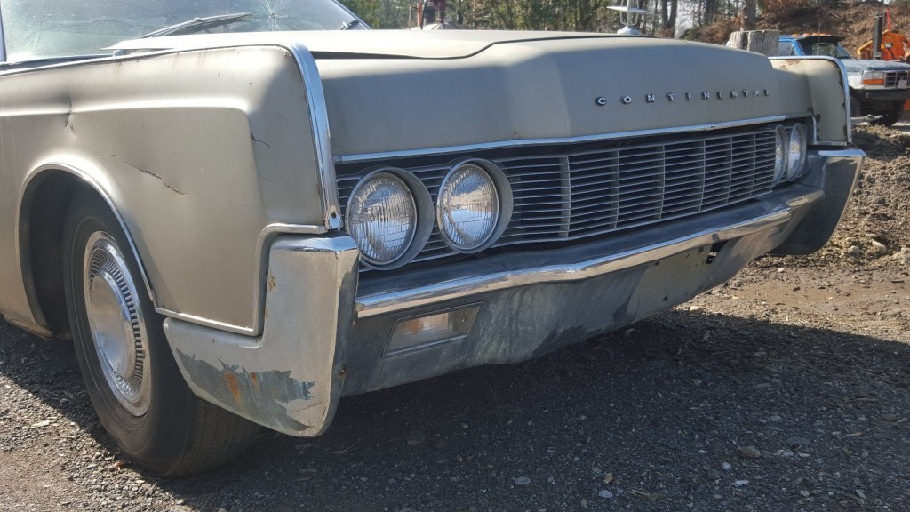 1967 Lincoln Continental Gasoline Barn Find