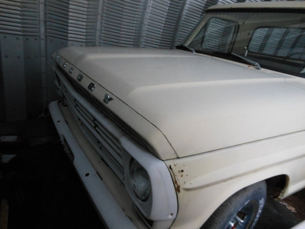 1968 Mercury M100 Pickup Barn find