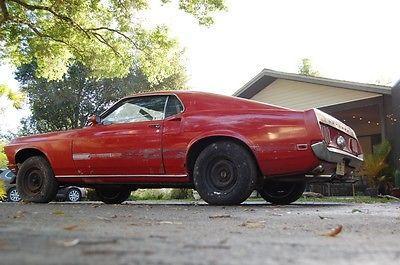 1969 Ford Mustang Mach 1 428 Cobra Jet Barn Find Survivor for sale