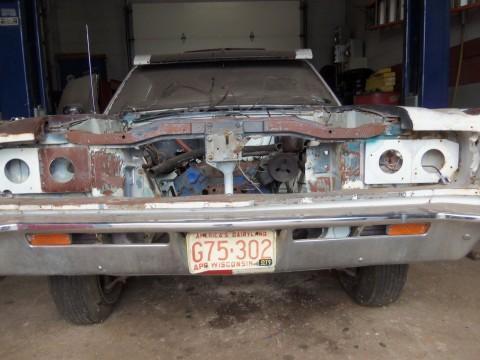 1970 AMC Rebel Machine 72a-8a barn find for sale