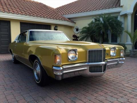 1972 Pontiac Grand Prix Model J Coupe barn find for sale