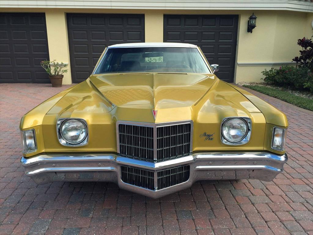 1972 Pontiac Grand Prix Model J Coupe barn find