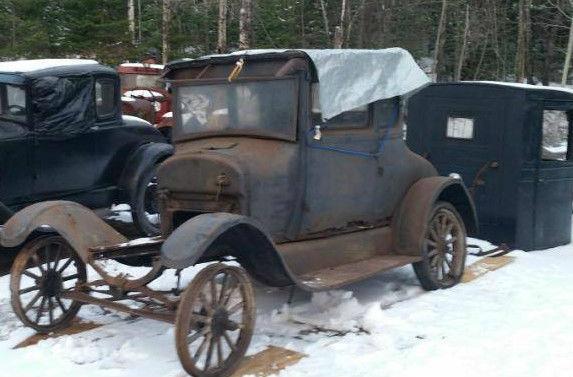 1926 ford model t a coupe barn find for sale. Black Bedroom Furniture Sets. Home Design Ideas