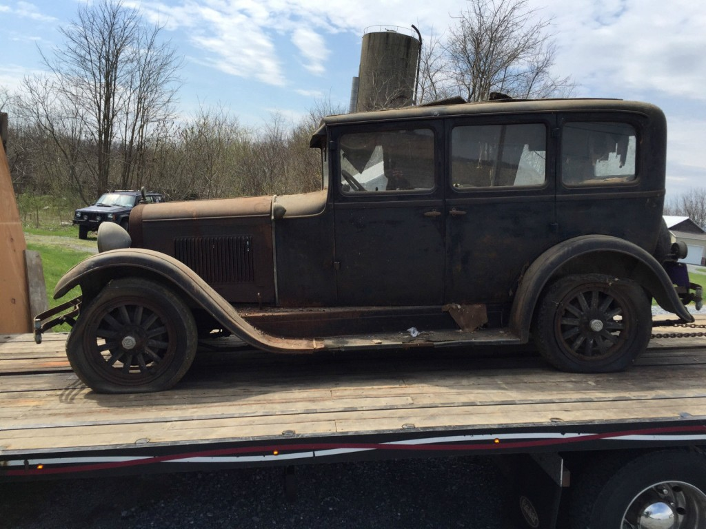 1928 Dodge Brothers 4 door Sedan Touring car barn find for ...