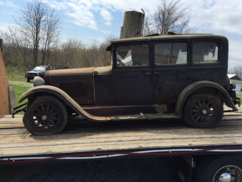 1928 Dodge Brothers 4 door Sedan Touring car barn find for sale