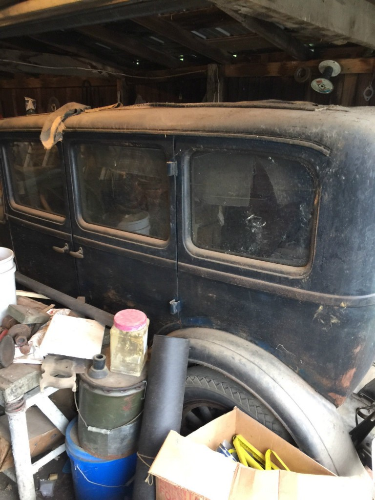 1928 Dodge Brothers 4 door Sedan Touring car barn find