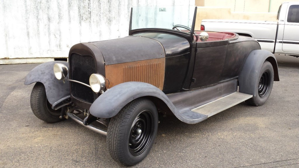 1929 Ford Model A Roadster Barn Find