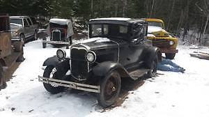 1930 Ford Model A Coupe barn find for sale
