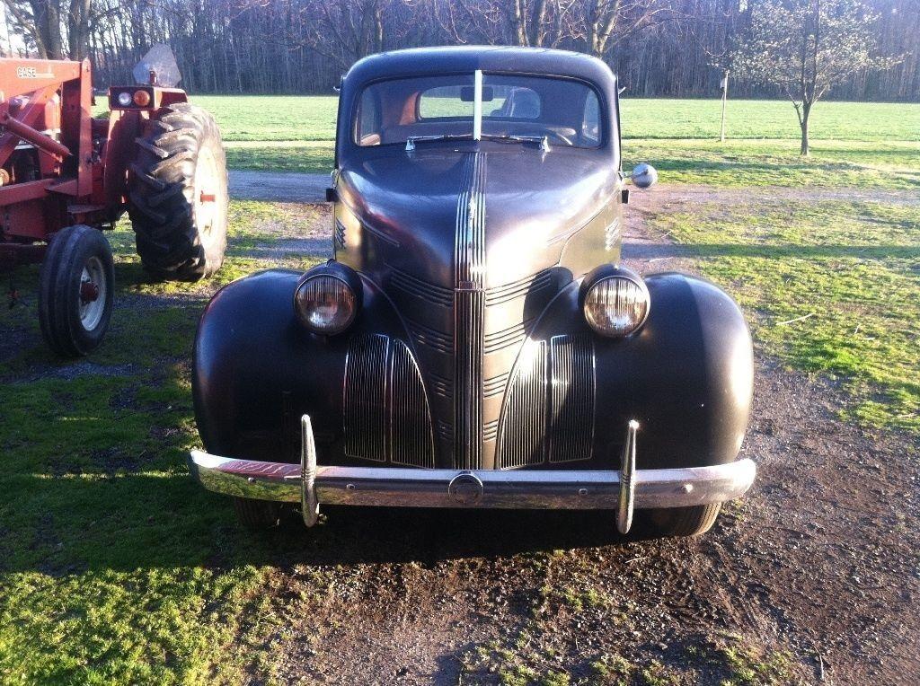 1939 Pontiac 2 door Sedan Original Survivor barn find