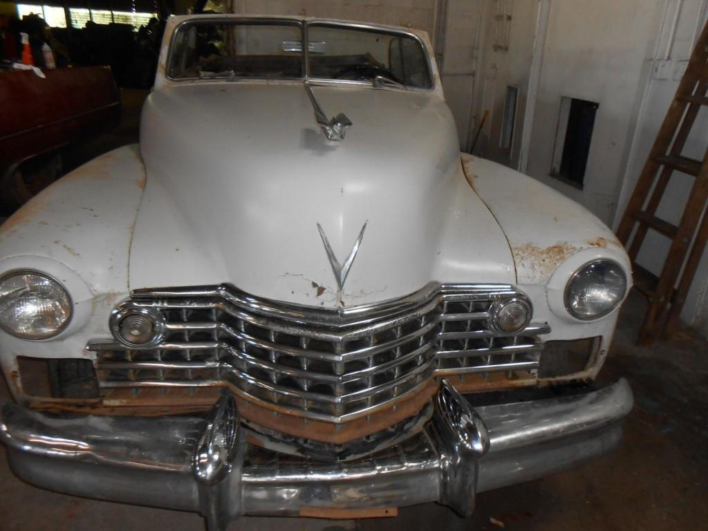 1942 Cadillac 62 Series Convertible barn find