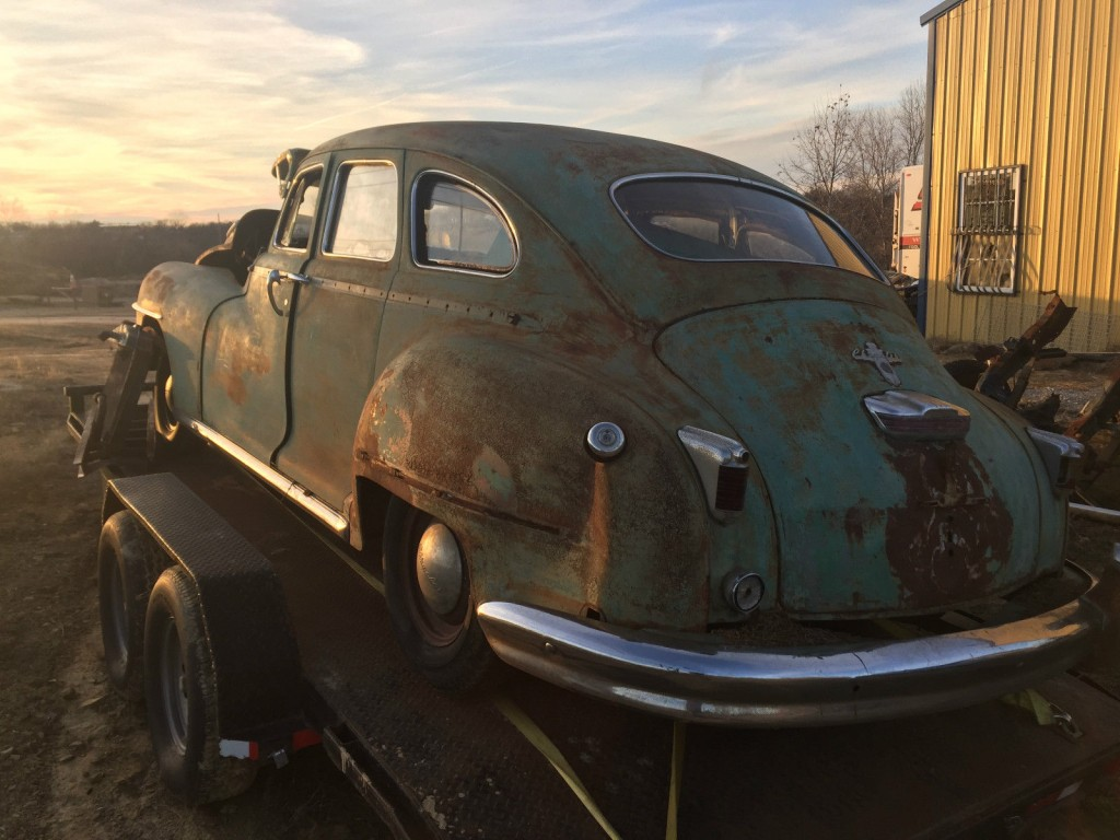 1947 Chrysler Royal Barn Find