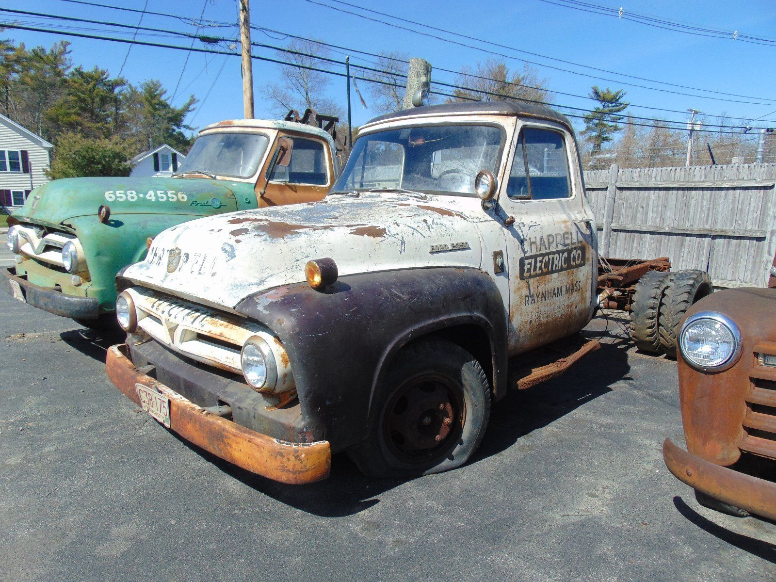 1953 Ford F 350 Barn Find Project Truck For Sale