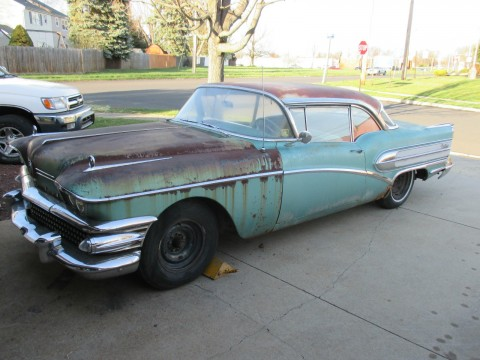 1958 Buick Century 2 door Hardtop Coupe Survivor barn find for sale