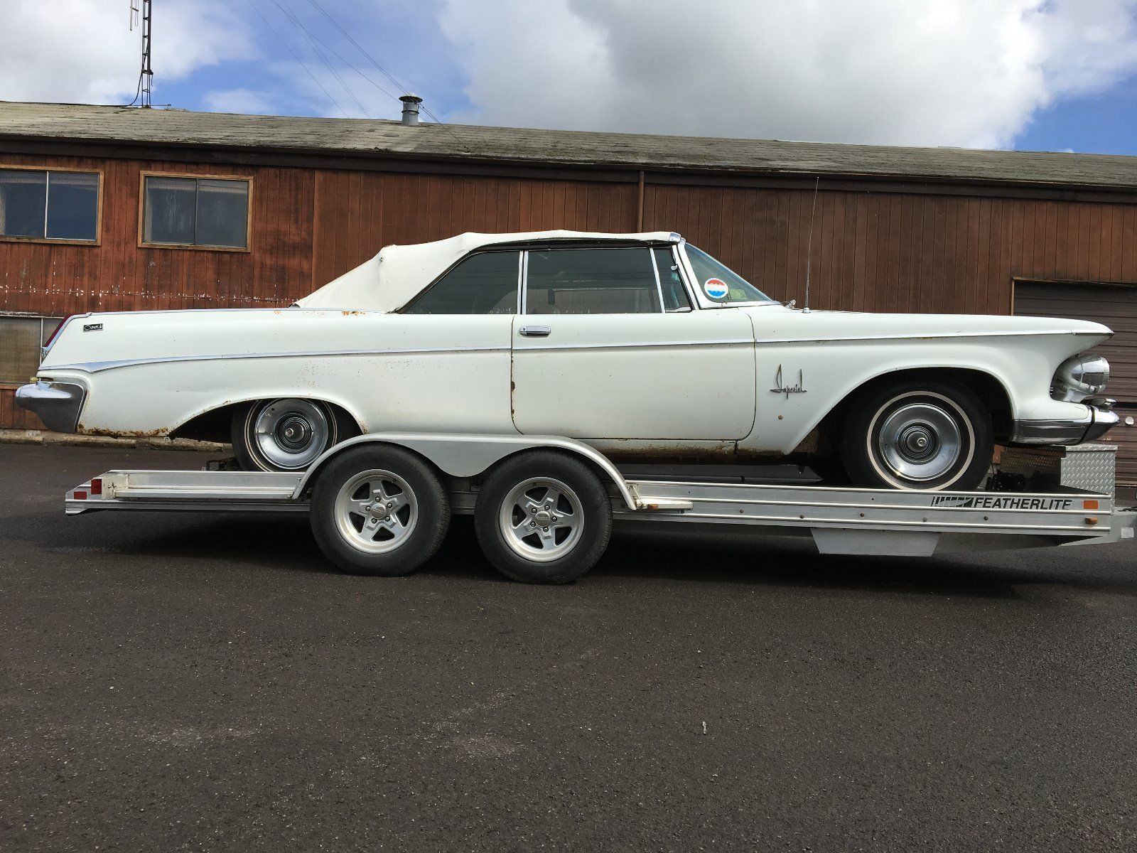 1963 Chrysler Imperial Crown Convertible Barn Find for sale