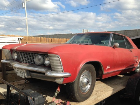 "1964 Buick Riviera Numbers Matching ""barn find"" for sale"