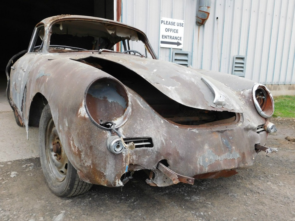 1964 Porsche 356 SC Barn Find