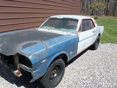 1965 Ford Mustang barn find for sale