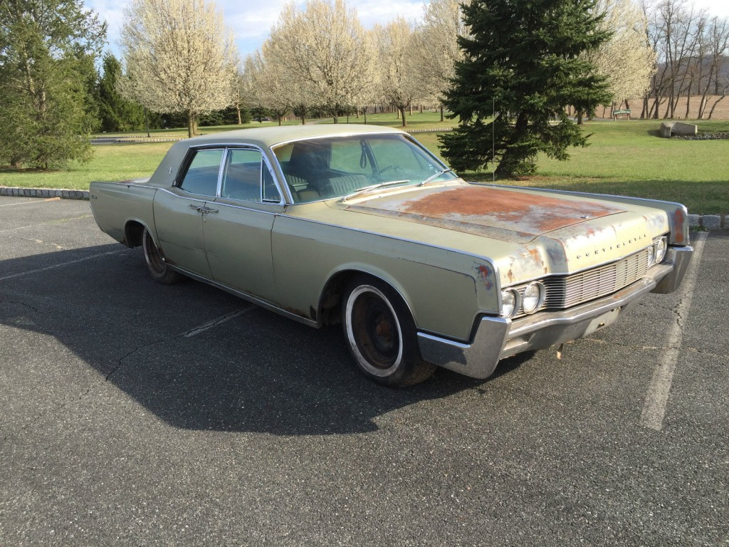 1967 lincoln continental barn find for sale. Black Bedroom Furniture Sets. Home Design Ideas