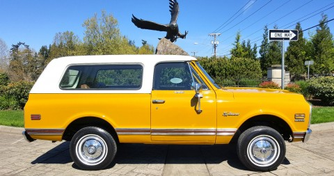 1972 Chevrolet K5 Blazer CST 4X4 Barn Find for sale