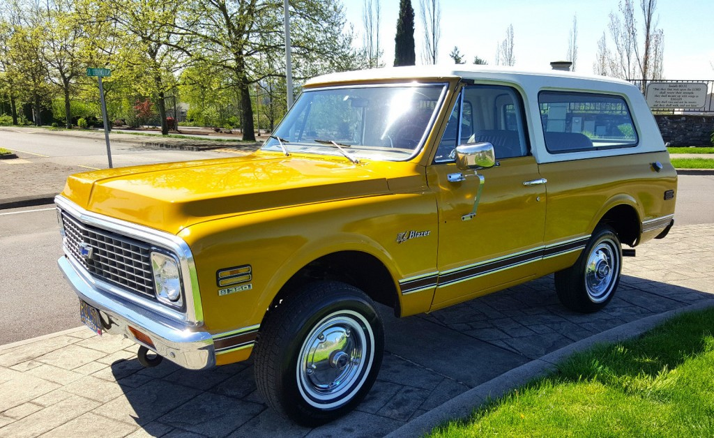 Chevy Blazer 4x4 >> 1972 Chevrolet K5 Blazer CST 4X4 Barn Find for sale