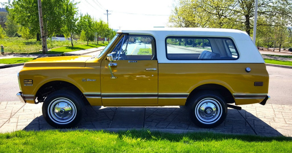 K5 Blazer For Sale >> 1972 Chevrolet K5 Blazer CST 4X4 Barn Find for sale