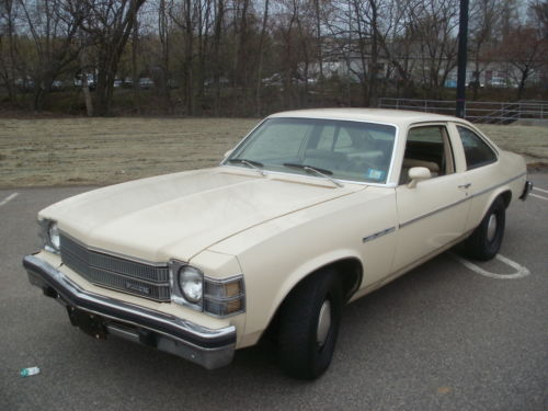 1975 Buick Skylark Apollo Hatchback Coupe Barn Find