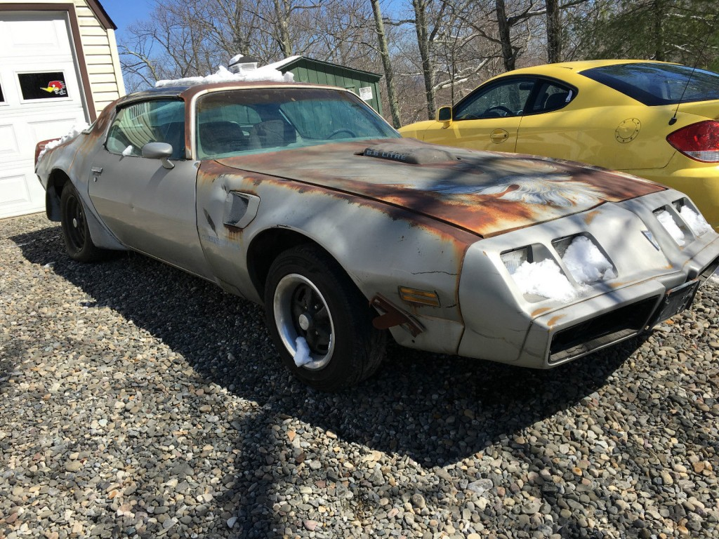 1979 Pontiac Trans Am 6.6 Litre Coupe Barn Find