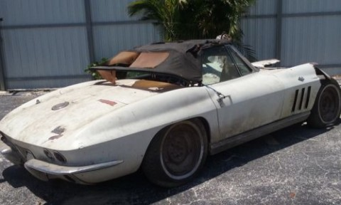 1966 Chevrolet Corvette Project Car barn find for sale