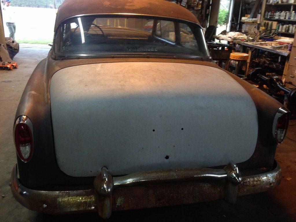 1954 Chevy Belair 2 Door Barn Fresh Project Rat Rod (rust and patina)