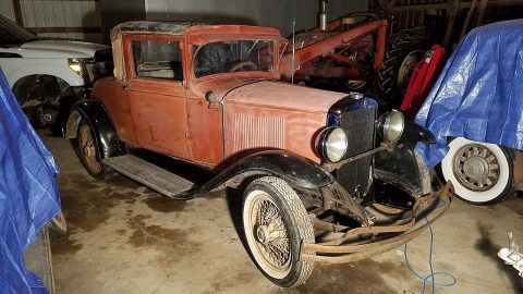 1929 Graham-Paige 612 Coupe Barn Find for sale