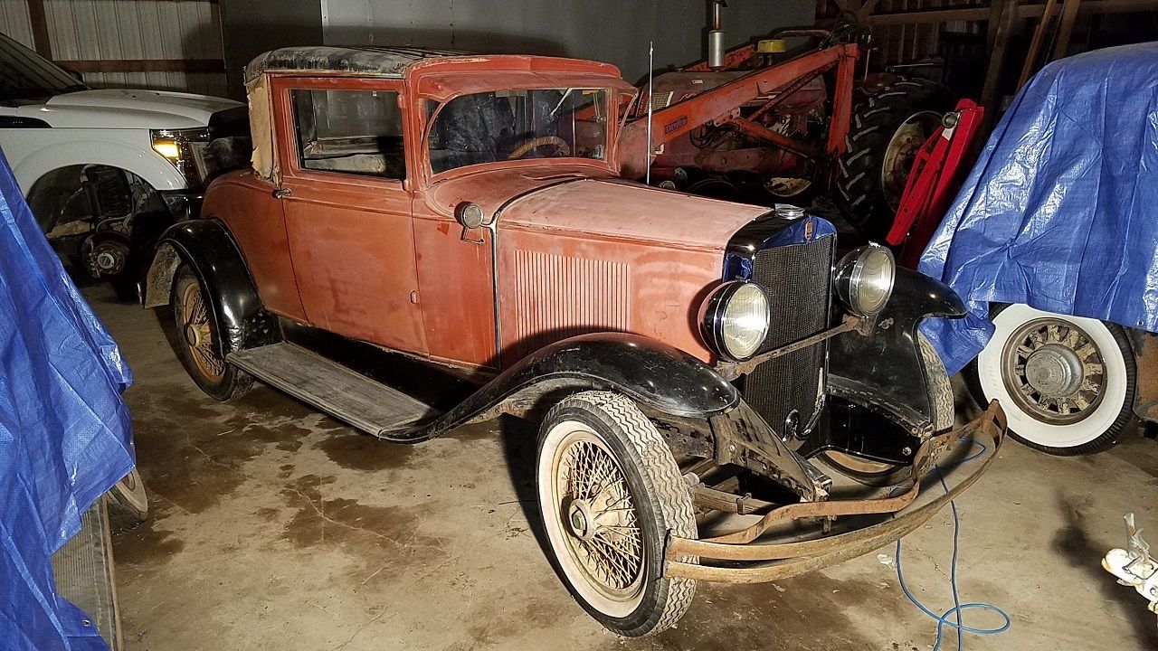 1929 Graham Paige 612 Coupe Barn Find For Sale