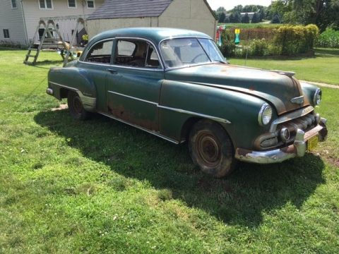 1952 Chevrolet Deluxe all original barn find for sale