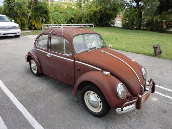 1966 volkswagen beetle classic barn find for sale. Black Bedroom Furniture Sets. Home Design Ideas