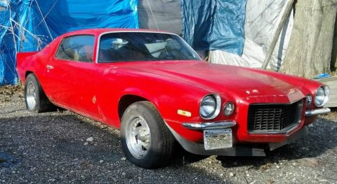 1972 Chevrolet Camaro Split Bumper RS Package Barn find for sale