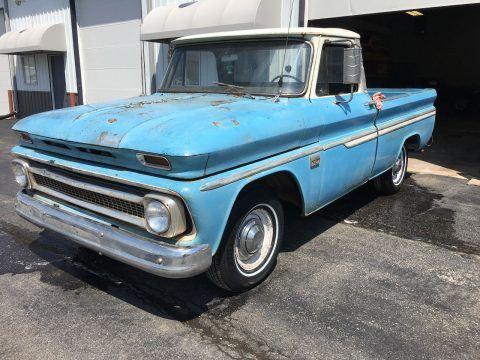 1966 Chevrolet C-10 Custom Fleeside Short bed for sale