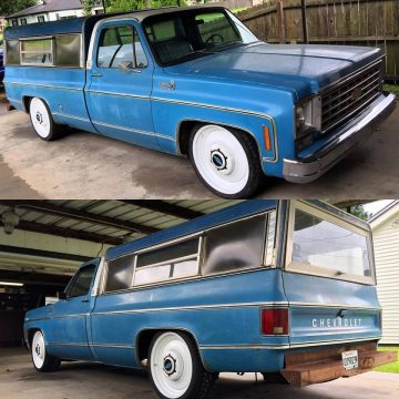 1975 Chevrolet C10 Custom Deluxe Low Mileage Barn find for sale