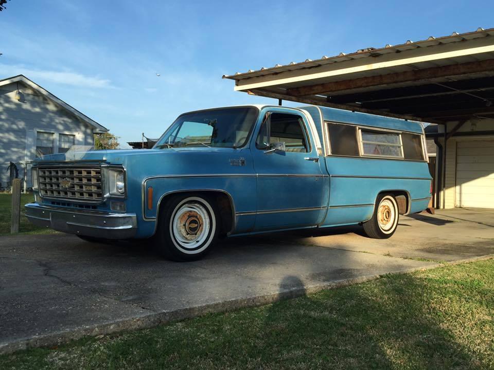 1975 Chevrolet C10 Custom Deluxe Low Mileage Barn find
